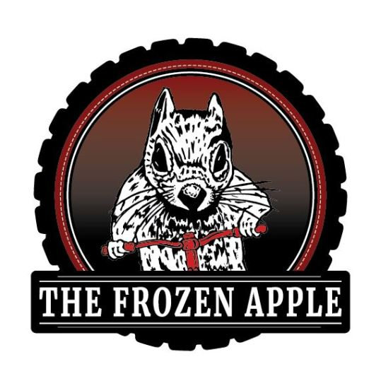 Frozen Apple Sticker Proof2